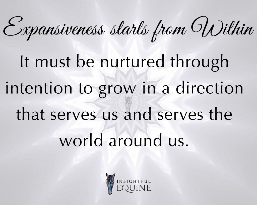 We are all expanding limitlessly