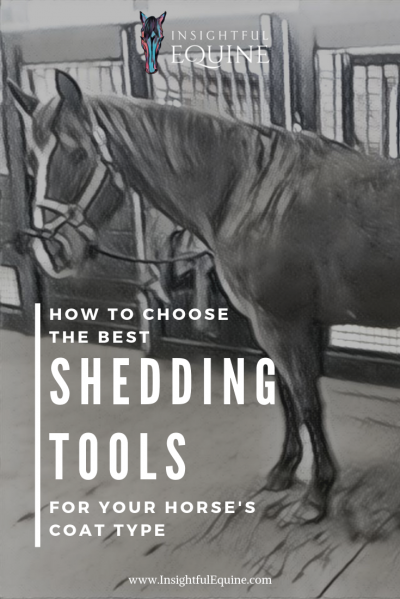Find out how to choose the right shedding tools for your horse's coat type and which ones are worth the extra money with this product review of 7 popular shedding brushes from Insightful Equine.