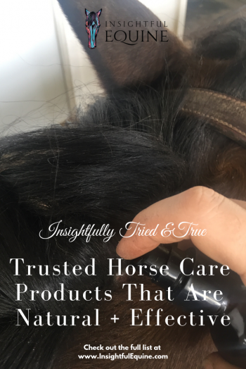 best natural horse care products