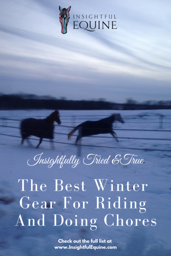 Choosing the right gear to ride well and stay warm all winter at the barn