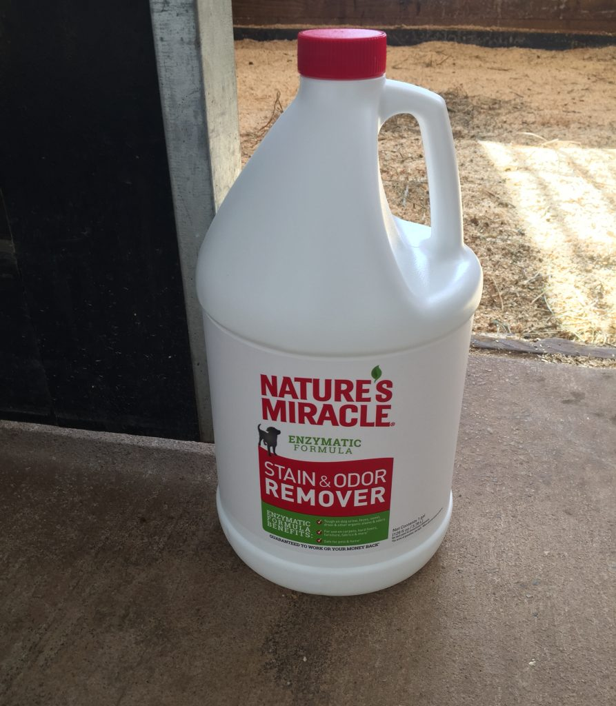 Nature's Miracle review for horse stall odor eliminator