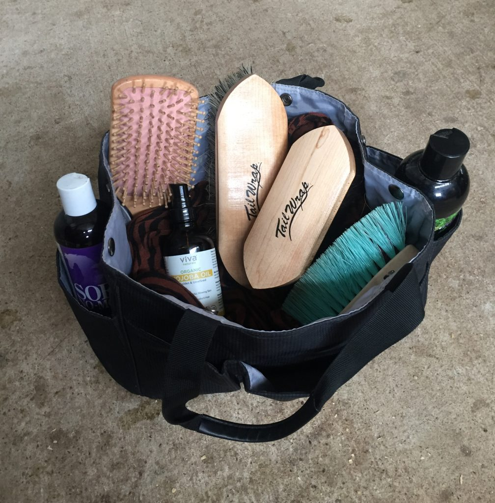 The best grooming bag stocked with horse care essentials